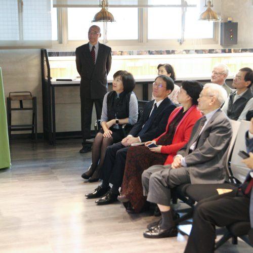 劉源俊教授短講「我所認識的袁教授」